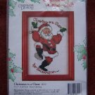 Candamar Designs Countless Cross Stitch Kit 6012 Christmas is a Claus for Celebration 1 Penny S&H