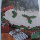 USA 1 Cent S&H Crochet Pattern Vintage Christmas Tree Skirt