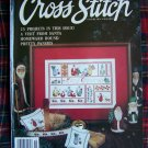 For the Love of Cross Stitch Magazine November 1990 Christmas Patterns
