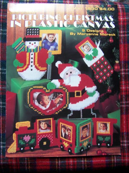 Plastic Canvas Patterns Christmas Picture Frames Picturing Pattern