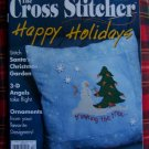 December 2005 Cross Stitcher Patterns Magazine Christmas Tree Skirt Cross