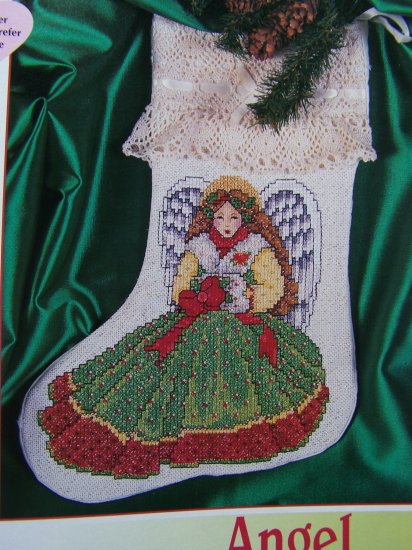 Christmas Cross Stitch Patterns Partridge Snowman Stockings Poinsettia Tree Skirt