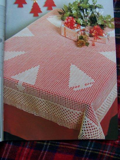 Magic Crochet # 68 Christmas Pattern Magazine October 1990 Thread Crocheting Patterns