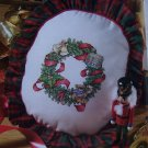 Christmas Crazy for Cross Stitch Pattern Magazine Jan 2002 # 68 Santa Patterns