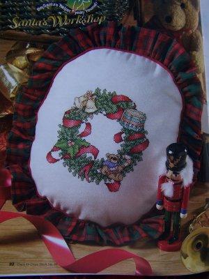 Christmas Crazy for Cross Stitch Pattern Magazine Jan 2002 # 68 Santa Patterns