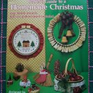 Vintage Leisure Arts Christmas Crafts Ornaments Baskets Tree Skirt Wreaths Hoop