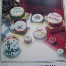 1 Cent USA S&H 80's Vintage Counted Cross Stitch 8 Christmas Patterns Book 353