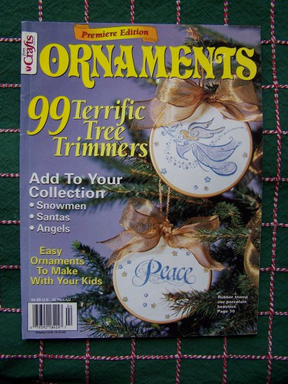 Premiere Edition 99 Christmas Ornaments Craft Patterns Magazine