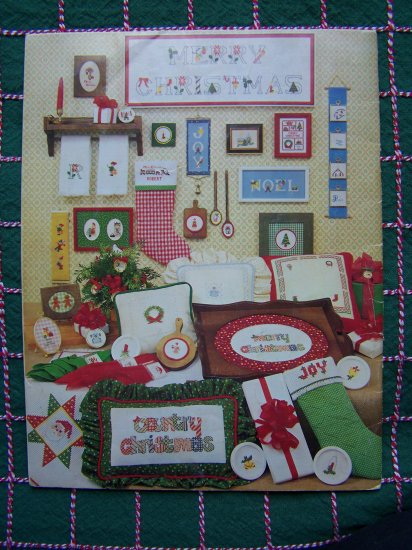 80 + Vintage 1970's Christmas Patterns Book Needlework Embroidery Cross Stitch