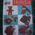 Christmas Sewing Patterns Stockings Apron Hat Scarf Shorts Headband 7908