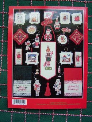 100 Cross Stitch Patterns Christmas Stockings Ornaments Sports Santa Animals more
