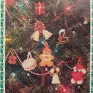 USA Free S&H 80's Vintage Beads Gone Christmas Pattern Book Beaded Ornaments Garland