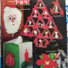 Free S&H US Christmas Plastic Canvas Patterns Book  Ornaments Garland Bells Hurricane Lamp & More