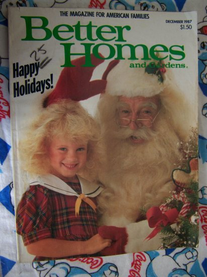 0 USA S&H Dec 1987 Better Homes & Gardens Holiday Issue Recipes Crafts Decorating