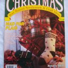 Christmas Year Round Needlework & Craft Ideas Magazine 1991 Mad For Plaid