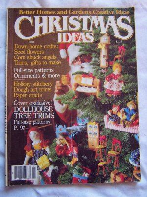 4 Vintage Christmas Ideas Back Issue Craft Magazines 1980's 1990's