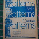 70s Vintage Blue Ribbon Christmas Patterns Book P 680 Ornaments & More Made from Recycled items