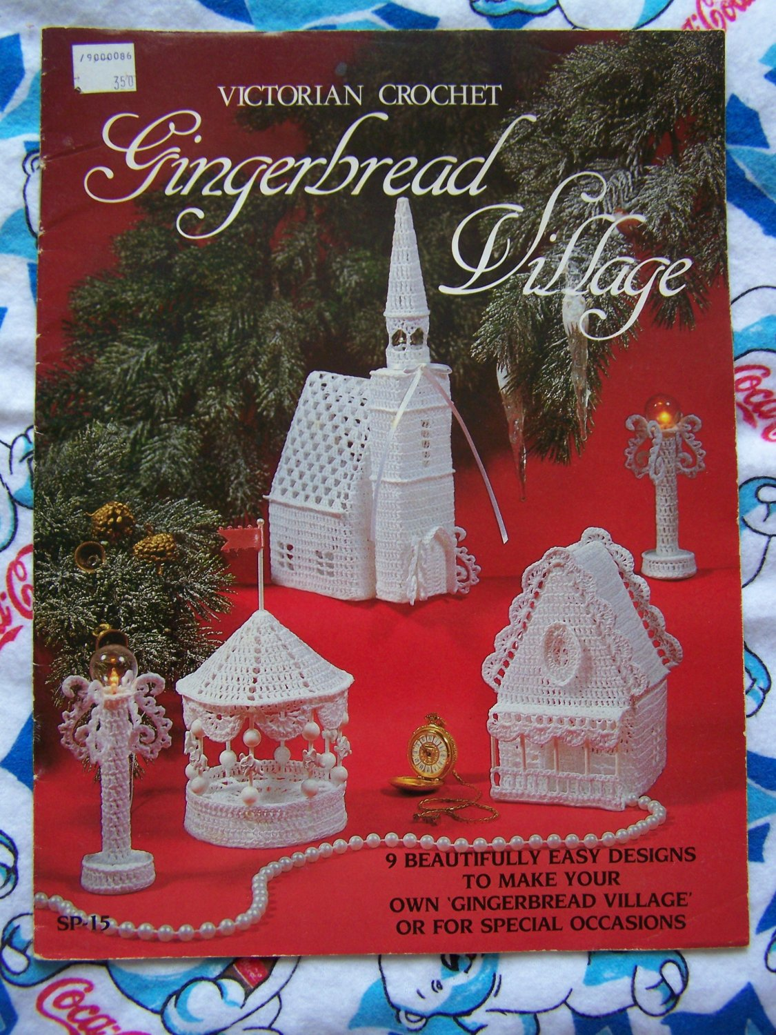 Vintage Victorian Crochet Patterns Gingerbread Village