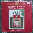 New Mill Hill Beads Santa Christmas Craft Kit Glass Beaded Wall Hanging