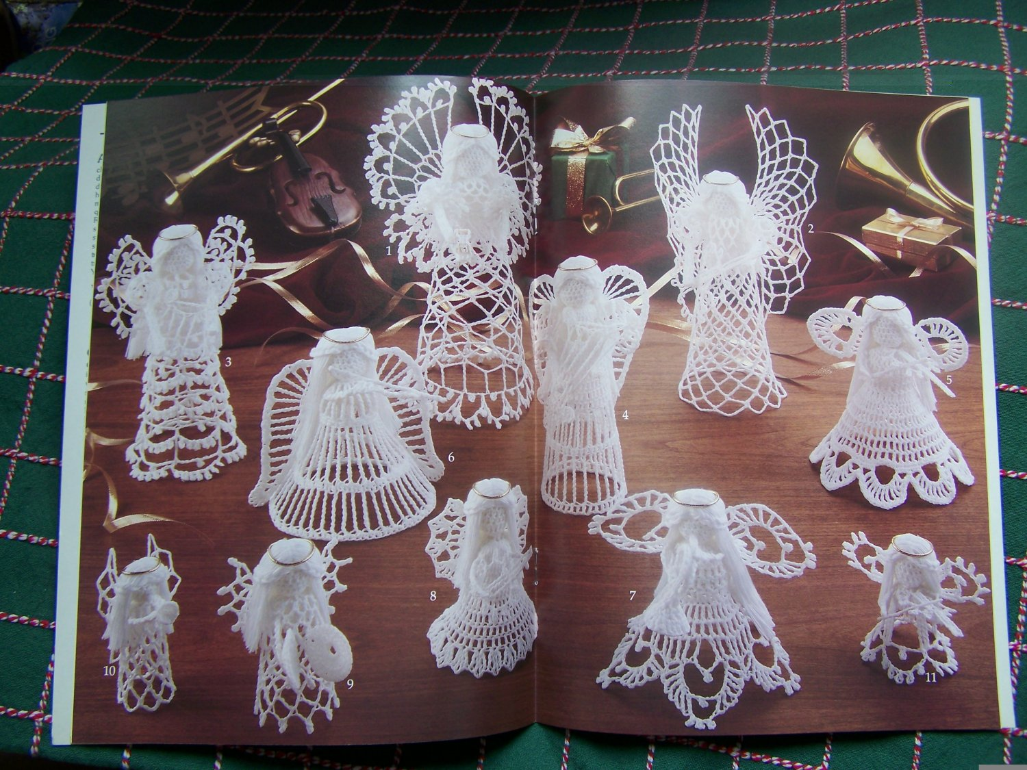11 Crochet Patterns Angel Orchestra Angels Playing Musical Instruments