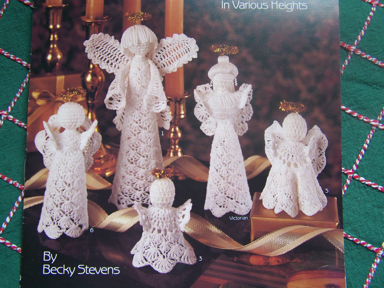 9 Christmas Crochet Patterns Angel Tree Topper Lacy