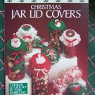 "USA Free S&H Vintage Christmas Crochet Patterns Jar Lid Covers 3 or 3.5"" 751"