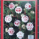 18 Crochet Christmas Patterns Satin Ball Covers Decorative Pearl Pin Heads