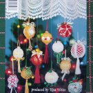 12 New Bedspread Cotton Thread Crochet Christmas Tree Ornament Patterns Satin Ball Covers