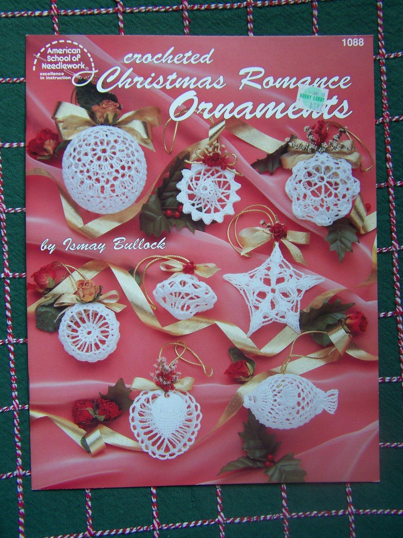USA Free S&H 12 New Thread Crochet Christmas Ornament ...