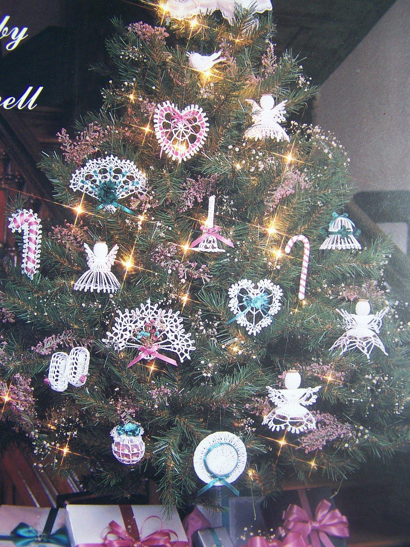 27 Thread Crochet Christmas Patterns USA Free Shipping