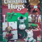 8 New Crochet Patterns Christmas Hugs Ornaments Stuffed Animal Satin Ball Huggers  2070