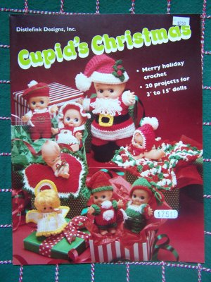 Usa Free S Amp H 24 New Christmas Crochet Patterns Cupid Dolls
