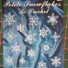 New 35 Thread Crochet Mini Christmas Snowflake Patterns Small Cotton Snowflakes