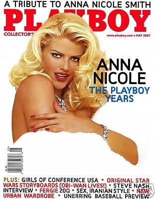 Playboy Magazine: Anna Nicole Smith (May 2007)