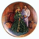 SCARLETTS GREEN DRESS COLLECTOR PLATES