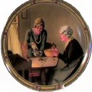 A FAMILY'S FULL MEASURE NORMAN ROCKWELL COLLECTOR PLATES