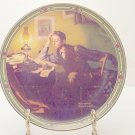 A YOUNG MAN'S DREAM NORMAN ROCKWELL COLLECTOR PLATES