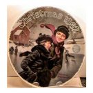 CHRISTMAS COURTSHIP  NORMAN ROCKWELL COLLECTOR PLATES