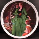 GRANDMA'S COURTING DRESS   NORMAN ROCKWELL COLLECTOR PLATES