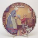 PANTRY RAID  NORMAN ROCKWELL COLLECTOR PLATES