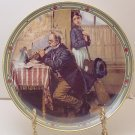 THE MUSICIAN'S MAGIC  NORMAN ROCKWELL  COLLECTOR PLATES