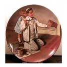 THE PAINTER NORMAN ROCKWELL  COLLECTOR PLATES