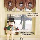 """23"""" LONG SNOWMAN SHELF SITTER"""