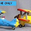 Spirit Of Snow Village Airplane (BLUE)
