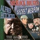 BASIL RATHBONE, NIGEL BRUCE SHERLOCK HOLMES & THE MAN WHO KNEW TOO MUCH..DVD