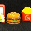 McDonalds Food Set