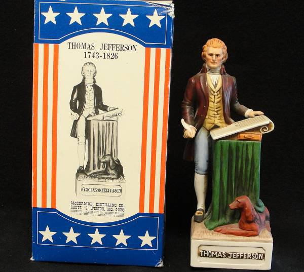 Thomas Jefferson Decanter
