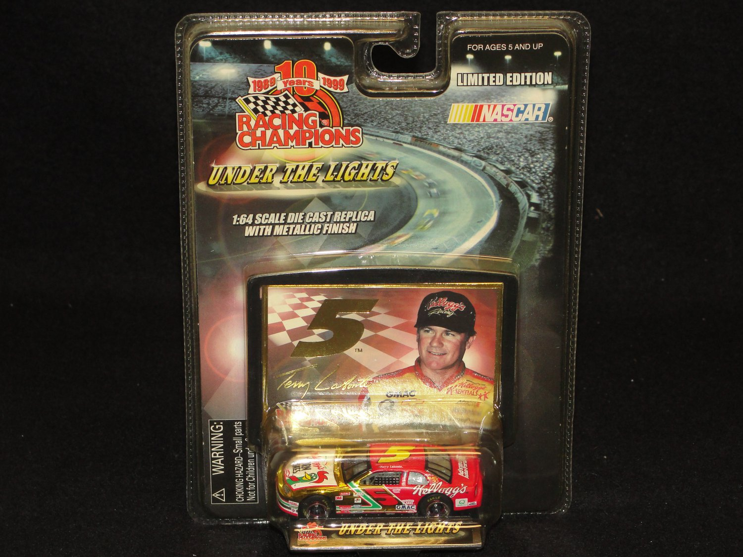 Terry Labonte 10 Years Racing Champions Limited Edition