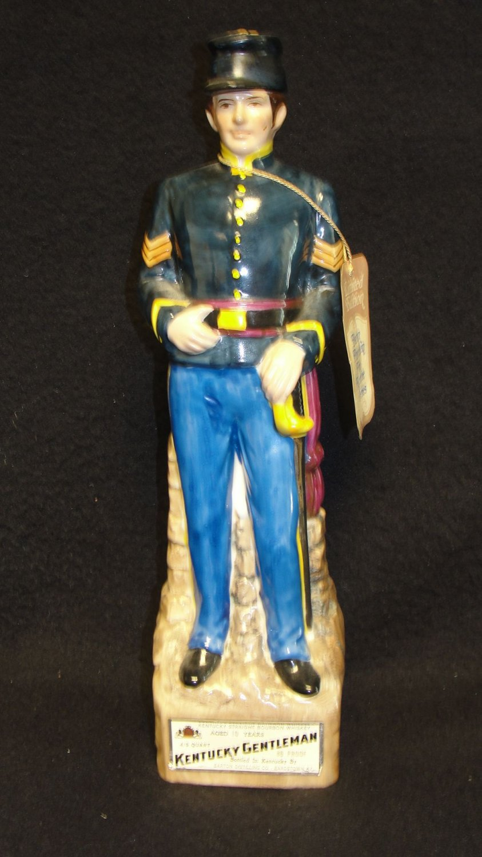 Kentucky Gentleman Union Soldier Decanter