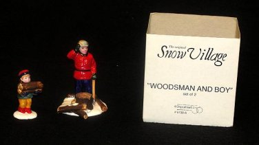 WOODSMAN AND BOY